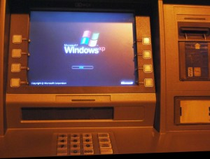 Windows XP на банкомате
